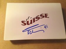 Florence Schelling SIGNED 4x6 photo WOMEN'S HOCKEY / TEAM SWITZERLAND #7