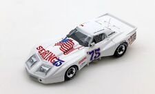 Corvette #75 Spirit Of Sebring 56th 12h Sebring 1975 J. Greenwood 1:43 Model