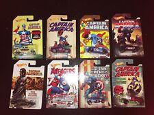 8x Hot Wheels, Marvel Captain America Series New!