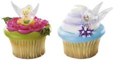TINKERBELL PRINCESSES - Cupcake Rings - 8 PIECES