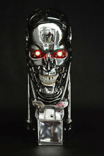 New 1:1 Terminator T800 Skull Endoskeleton Lift-Size Bust Figure Replica LED EYE