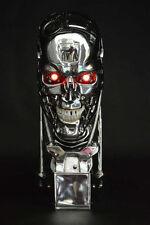 New 1:1 Terminator T800 Skull Endoskeleton Lift-Size Bust Figure Replica LED EYE