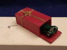 "Vintage Mg Td Gift Wrapped Model Car Christmas Ornament 3 3/8"" Le #20/200 Miller"