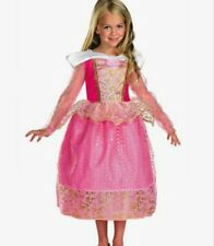 Disney Princess Aurora Sleeping Beauty Costume Size 4-6 SM Small New made 2011