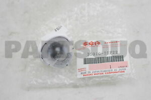 3591075F22 Genuine Suzuki LAMP ASSY, LICENSE 35910-75F22