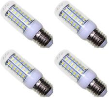4X E27 6 Watt 48 5730 LED 6000K Cool White Light Corn or Tower Shape 4 pcs Lot
