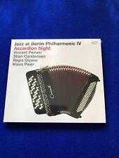 neuf emballé Jazz at Berlin Philharmonique IV Accordéon Night Jazz ACT CD 2015