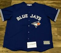 Majestic Coolbase Mens Toronto Blue Jays Baseball Jersey Sz XXL Blank Back NWOT