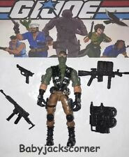 BEACH HEAD v.4 2002 Hasbro GI Joe Figure, Case & Complete Accessories Lot A