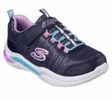 Skechers Sneaker Med Power PETals - Navy / Multi Polyester Normal Kinder