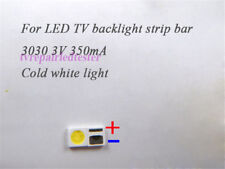 100Pcs 3030 3V 350mA SMD Lamp Beads Specially for LED TV Backlight Strip Bar New