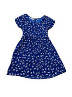 Tree Of Life Women's Swallow Brid Print Fit And Flare Dress Size XS