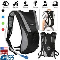 2L Sporting Backpack Water Bladder Bag Hydration Packs Backpack Hiking Camping