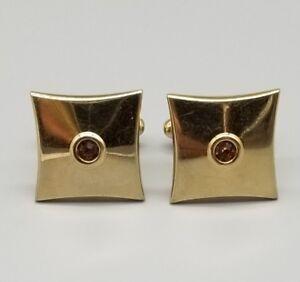 Vintage cufflinks initial B mid-century by Hickok offered by Vintage Men\u2019s Swag bbu-7