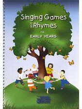 Lucinda Geoghegan Singing Games et Rhymes for early years Present Music Book