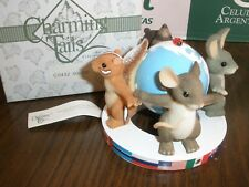 New in Box Fitz & Floyd Charming Tails * Friends Around the World