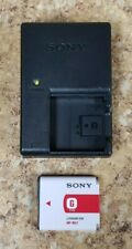 Sony BC-CSG Charger + NP-BG1 3.6V Battery Pack Pre-owned Free Shipping