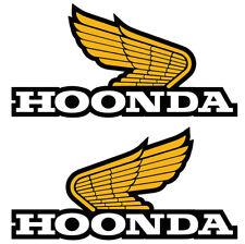 HOONING HONDA STICKER HOONDA RETRO CLASSIC WINGS LOGO PAIR