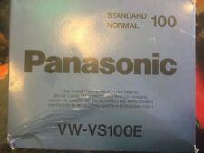 Panasonic Vw-vs100e Jeu De K7 D Encre 100 Tirages Périmé 1999/10