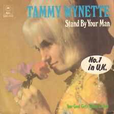 "TAMMY WYNETTE ‎– Stand By Your Man (1975 COUNTRY VINYL SINGLE 7"" HOLLAND)"