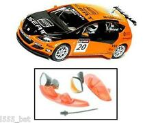 New Scalextric W9496 Seat Leon WRC Rear Light Lenses, Aerial, Wing Mirrors C2762