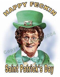 Mrs Brown Saint Patrick's DayT-SHIRT 17th March Ireland t-shirt size S TO XXXL