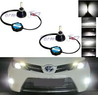LED Kit G5 48W 894 6000K White Two Bulbs Fog Light Upgrade Replacement Plug Play