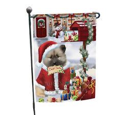 Keeshond Dog Dear Santa Letter Christmas Holiday Mailbox Garden Flag Gflg53605