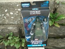 MARVEL LEGENDS DR. DOOM  FANTASTIC FOUR SUPER SKRULL  BAF WAVE BRAND NEW AND SEA