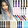"Real Soft Jumbo Braid 24"" Kanekalon Long Crochet Synthetic Hair Extensions Twist"