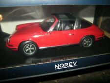 1:18 Norev Porsche 911 T Targa 1971 red/rot Nr. 187634 in OVP