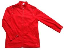"Men's Vintage 80's Red Light Jacket Retro Medium 38"" Chest"