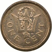 BARBADOS / 1 CENT / 2010 / COPPER / COLLECTIBLE   #WT20894