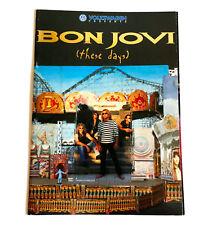 Bon Jovi these days tour 1996 Japan Concert Tour Program Book Jon Richie Sambora
