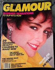 Vtg GLAMOUR 5/1982 1980s Kim Alexis fashion perfume makeup ads vogue lingerie