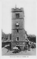 POSTCARD  HERTS - ST ALBANS - THE CLOCK TOWER     - RP