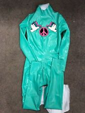 Commissioned Rubber Latex catsuit size Small £449.00 worn for under 5 mins