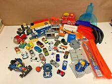 Mixed Diecast Lot Hotwheels Matchbox Cars Trucks Tracks And More
