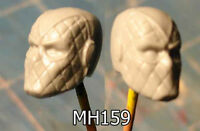 "MH159 Custom Cast Sculpt part Male head cast for use with 3.75"" action figures"