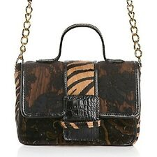 """Clever Carriage Zebra-Print and Lace Estate """"Cupcake"""" Bag $299"""