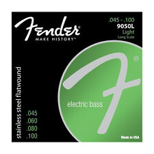 FENDER STAINLESS STEEL FLATWOUND BASS STRINGS 9050L ***WORLDWIDE SHIPPING*******