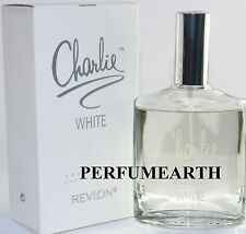 CHARLIE WHITE 3.3 OZ EDT SPRAY FOR WOMEN NEW IN A BOX BY REVLON