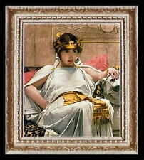Cleopatra  Miniature  Dollhouse Doll House Picture
