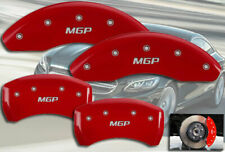 "2005-2007 Mercedes Benz C230 Front + Rear Red ""MGP"" Brake Disc Caliper Covers"