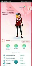 Pokémon Go account shiny Lugia shiny cresselia shiny Pikachu hat groudon kyogre