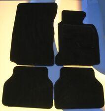BMW 3 SERIES E90 / E91 2005 - 2012 4  BLACK TUFTED CAR MATS WITH 4 x PADS B