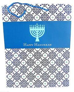 Hallmark Tree of Life Happy Hanukkah Gift Tote Bag New