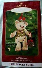 HALLMARK KEEPSAKE ORNAMENT 2000 GIFT BEARERS BEAR CHRISTMAS HOLIDAY NEW NIB