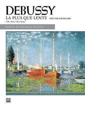 La plus que lente; Debussy, Claude, Piano Solo, ALFRED - 889