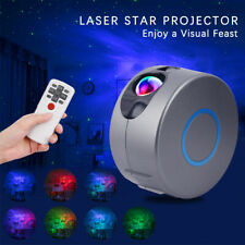 3D Aurora laser LED Starry Sky Star Projector Light Galaxy Night Lamp Rotation